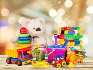 Legetøj og egne cykler.